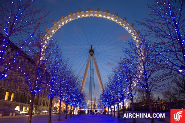 Vé máy bay đi London giá rẻ hãng Air China