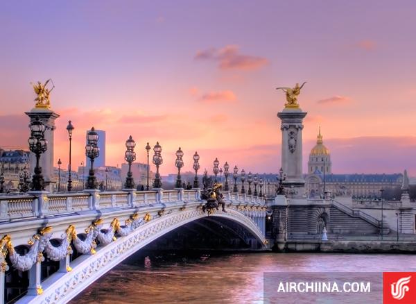 Vé máy bay đi Paris giá rẻ nhất hãng Air China