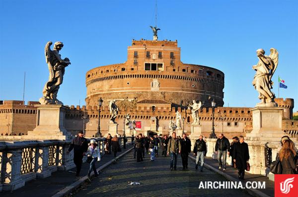 vé máy bay từ TP.HCM đi Rome