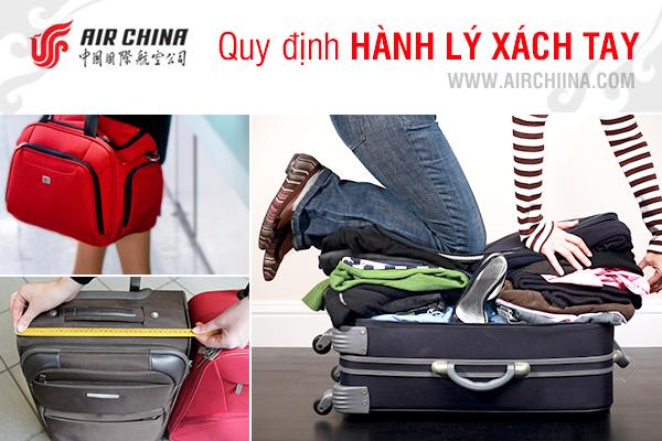 Quy định về hành lý xách tay hãng Air China