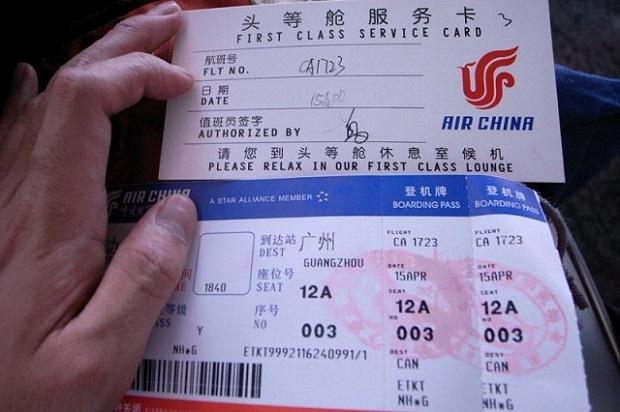 Quy định đổi vé máy bay Air China