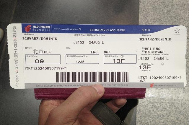 quy định hoàn đổi vé Air China mới nhất