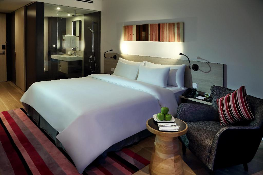 Phòng nghỉ tại Khách sạn Liberty Central Saigon Citypoint