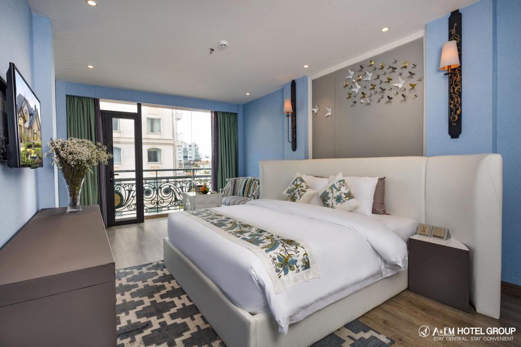 Phòng executive site a&em saigon hotel