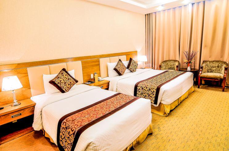 Phòng deluxe 3 người Khách sạn Mường Thanh Holiday Vũng Tàu