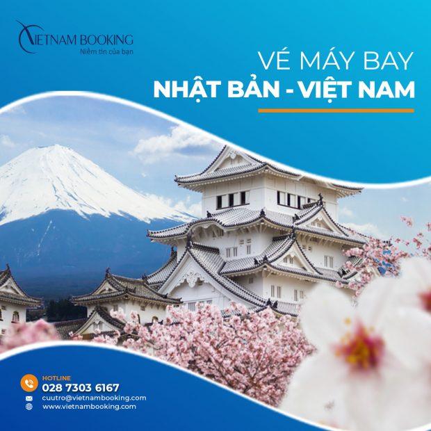 Đặt vé máy bay từ Tokyo về Hà Nội | ƯU ĐÃI tháng 9