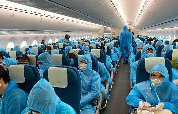Chyến bay từ Đức về Việt Nam