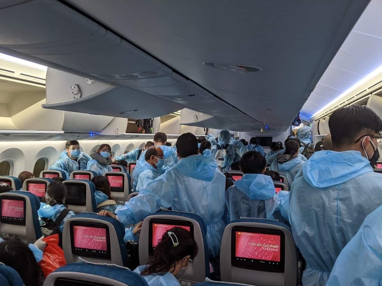 chuyến bay từ Đức về Việt Nam 2021