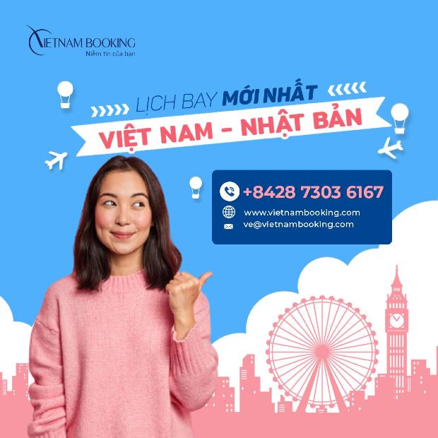 Vé máy bay từ Việt Nam đi Tokyo giá rẻ