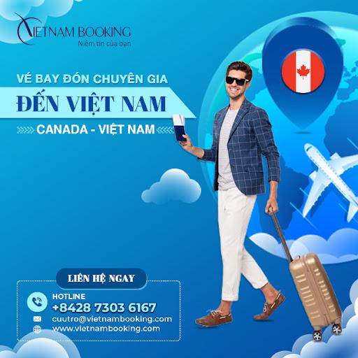 Vé máy bay chuyên gia từ Canada về Việt Nam